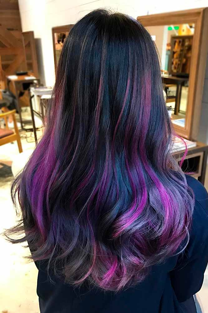 Purple Black Ombre picture2