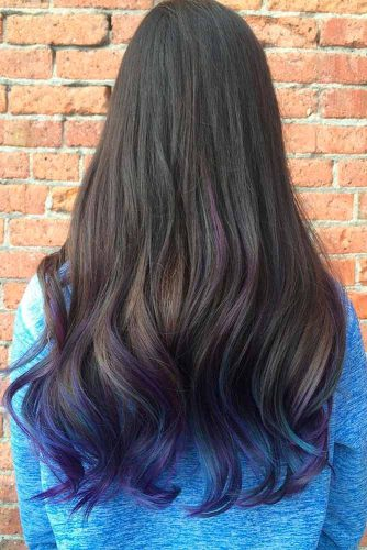 Purple Black Ombre picture3