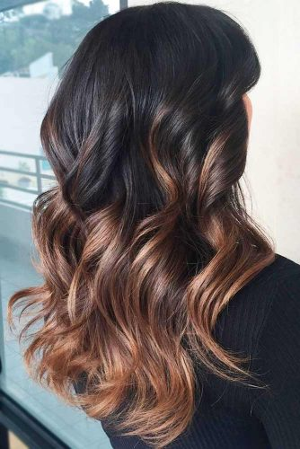 Black to Brown Ombre picture3