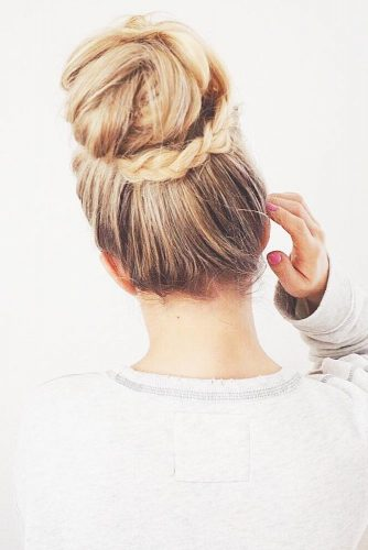 So Sweet Braided Buns picture 3