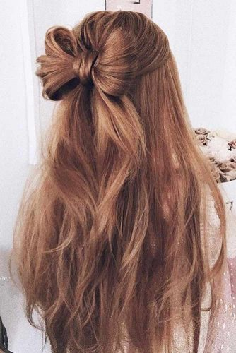 Back to School Hairstyles with Bows picture 1