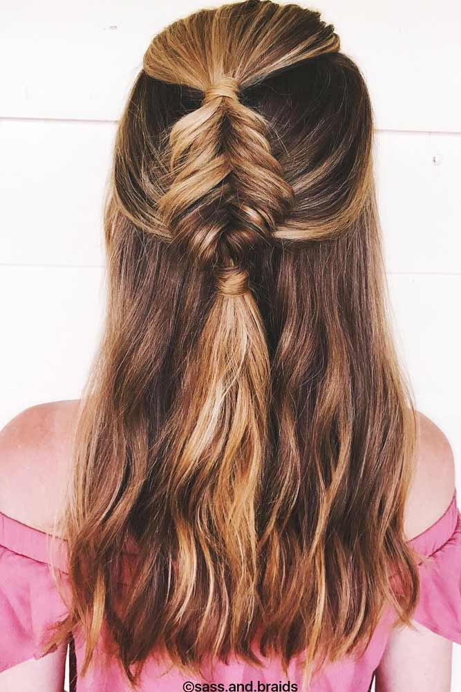 Half Up Half Down Styles for Your Inspiration picture 3