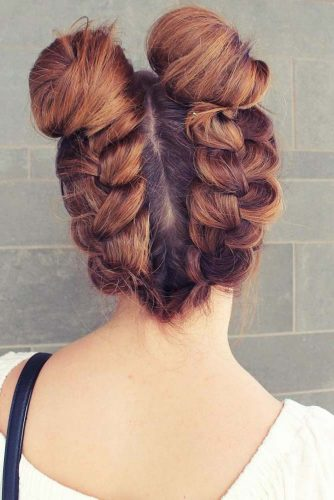 Easy Hairstyles with Buns picture 1