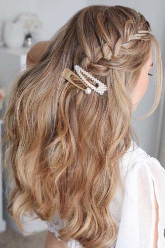 Beautiful Hairstyles With Waterfall Braids #braids