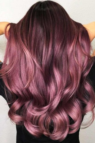 Lilac Hair Color Balayage #purplehair #balayage
