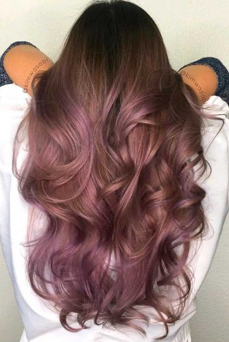 Chocolate Lilac Hair Ideas for Your Brown Hair picture1