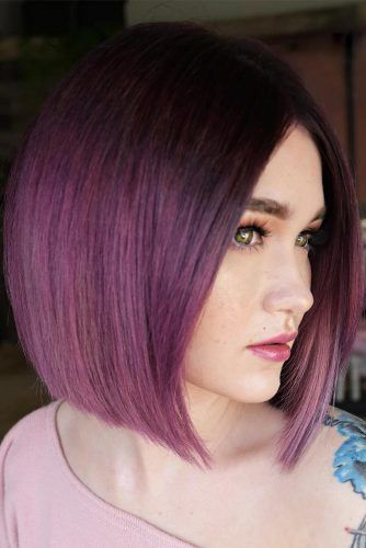 Lilac Dark Chocolate Color Melt #chocolatelilachair #lilachair