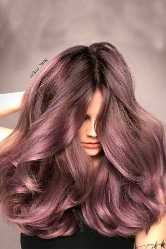 Beautiful Chocolate Lilac Hair picture2