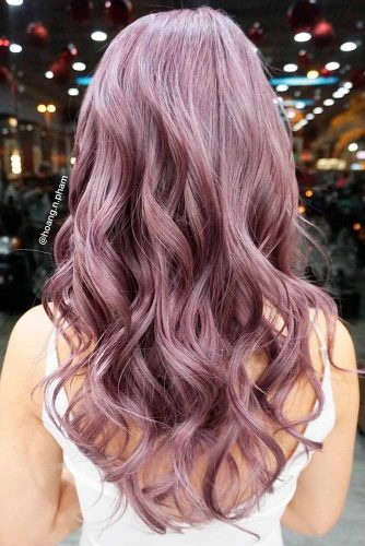 Chocolate Lilac Hair Ideas for Your Brown Hair picture