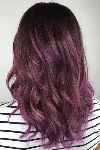 Chocolate Lilac Hair Ideas for Your Brown Hair picture2