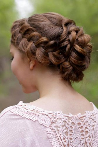 Fascinating Dutch Braid Updo #homecominghairstyles #homecoming #hairstyles #braids #updohairstyles