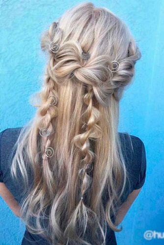 Cute Half Up Half Down Hairstyles picture1
