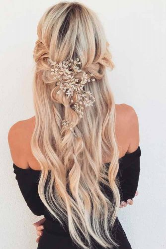 Cute Half Up Half Down Hairstyles picture3