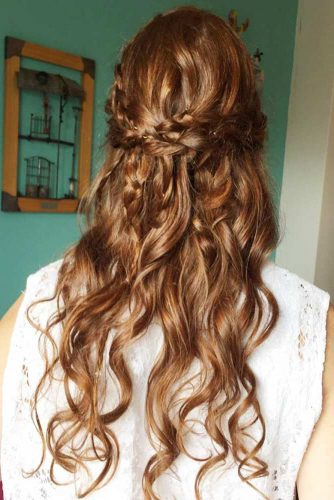 Cute Half Up Half Down Hairstyles picture2