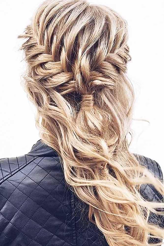 Stunning Half-Up Half-Down Hairdo picture 2