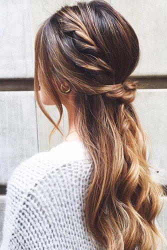Stunning Half-Up Half-Down Hairdo picture 3