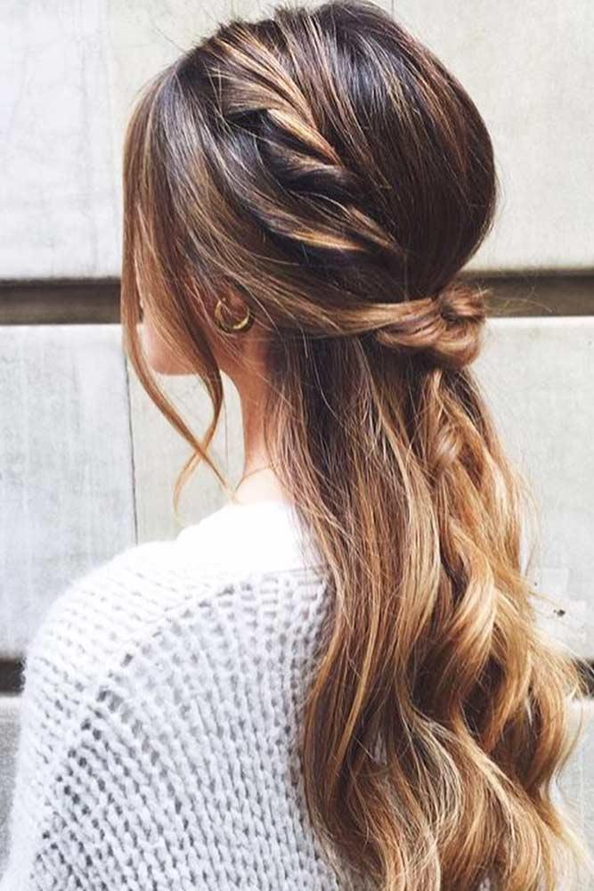 Stunning Half-Up Half-Down Hairdo picture 3