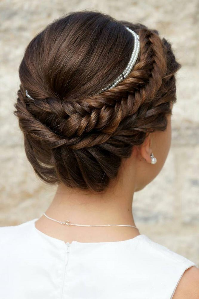 Cute Fishtail Braided Updo picture 1