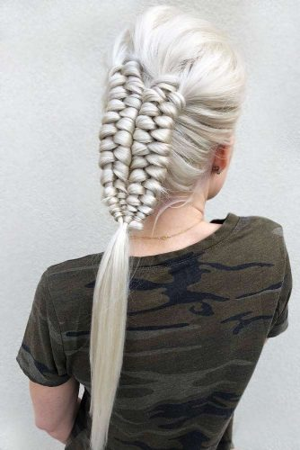Hairstyles Ideas With Infinity Braids Ponytail #braids #ponytail
