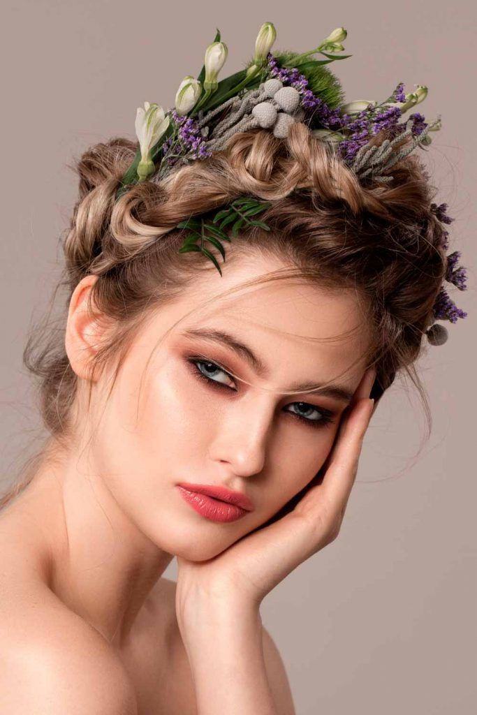 Extraordinary Fall Floral Accessories #hair accessories #flowershairstyles