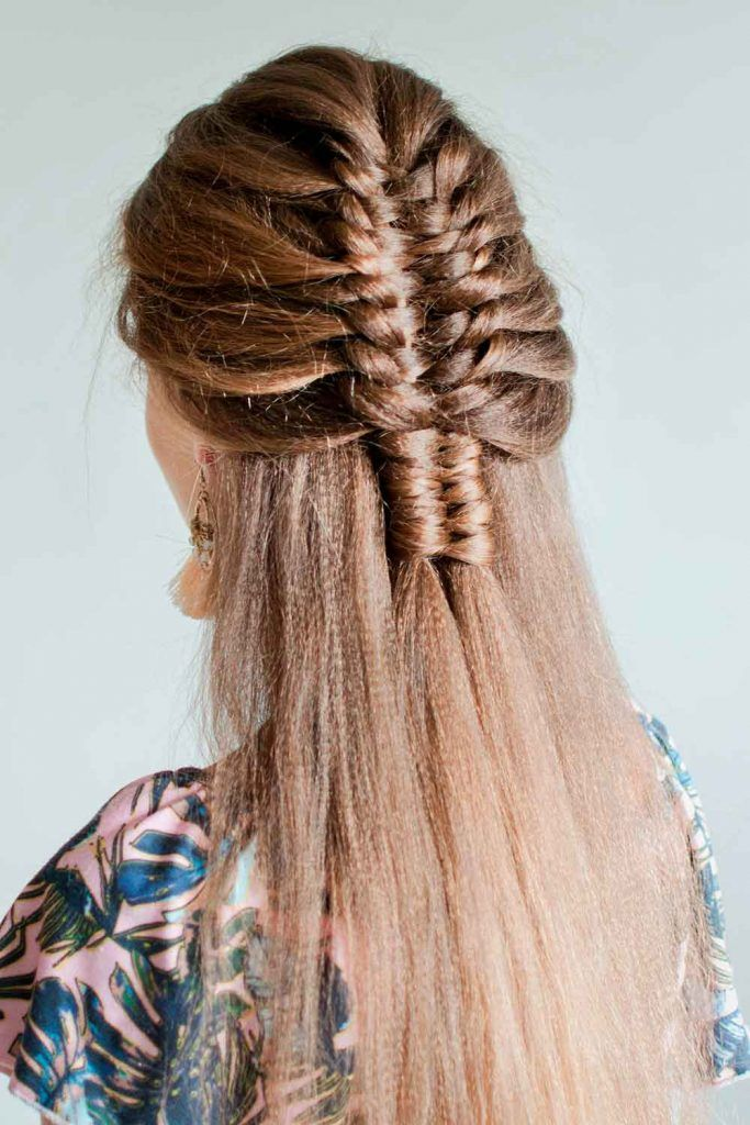 Hairstyles Ideas With Infinity Braids