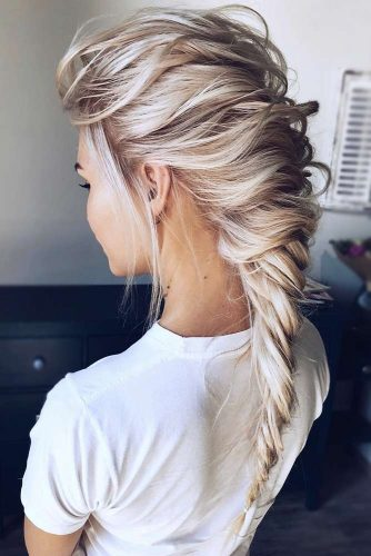 Fishtail Braids Options Messy #braids