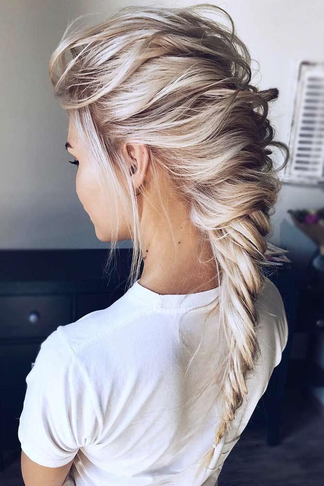 Fishtail Braids Options Messy #braids