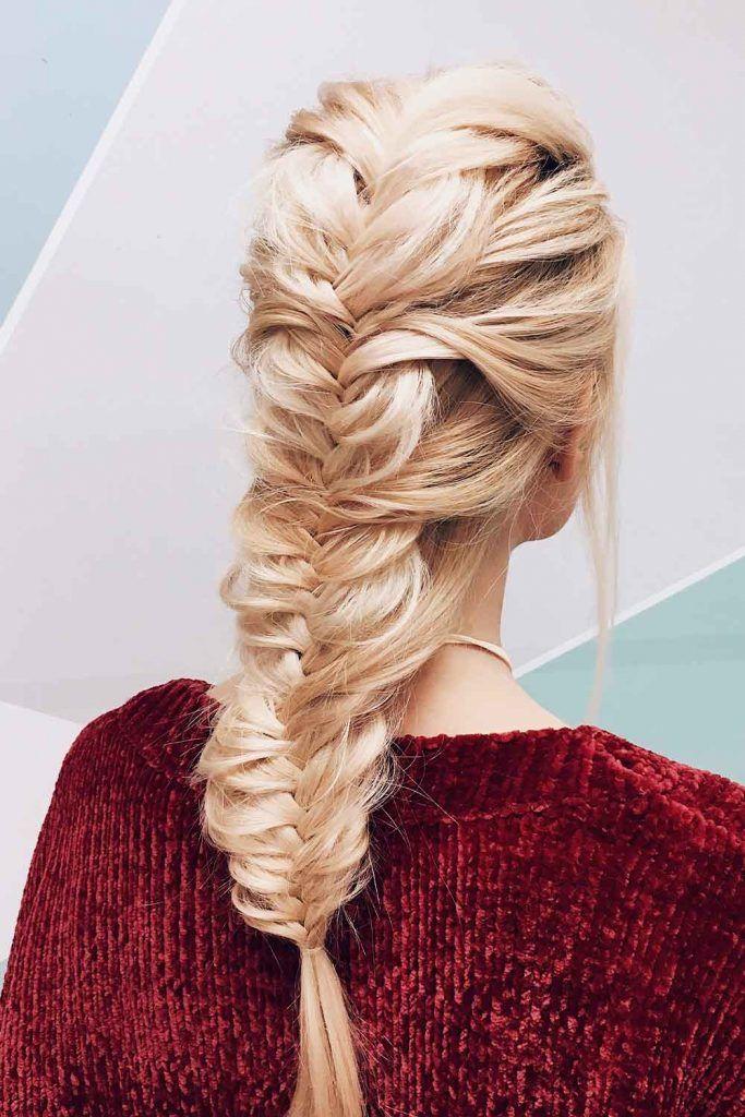 Voluminous Fishtail Braid #fishtailbraid #voluminousbraid