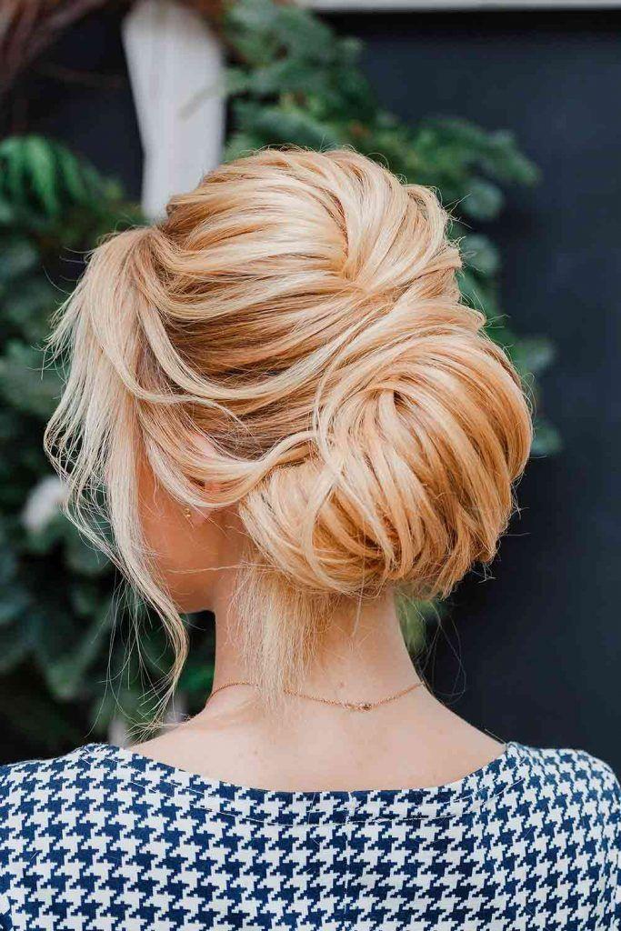French Twist Updo #frenchtwistupdo #prettyhairstyles