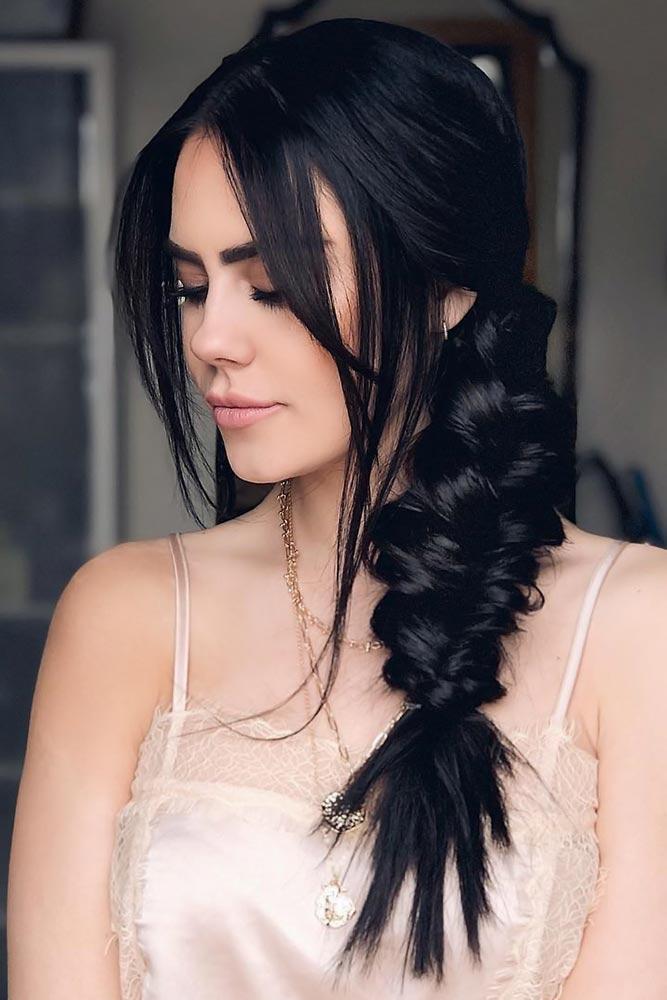 Side Pull Through Braids Styles #braids