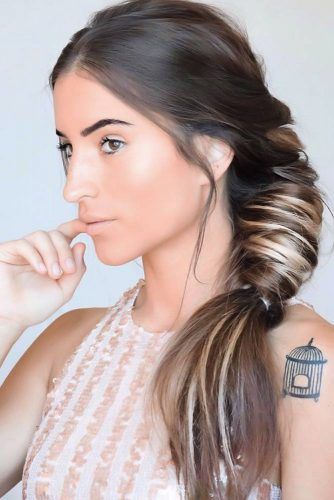 Side Topsy Tail Braids Styles #braids