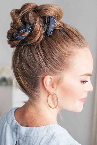 Braided High Updo Styles #braids #updo
