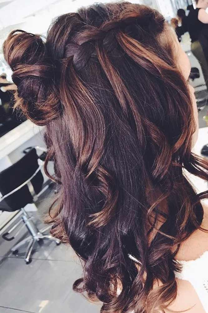 Waterfall Braids for Brown-Haired Girls picture 2