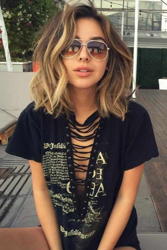 Trendy Look for Middle Length Hair picture 2