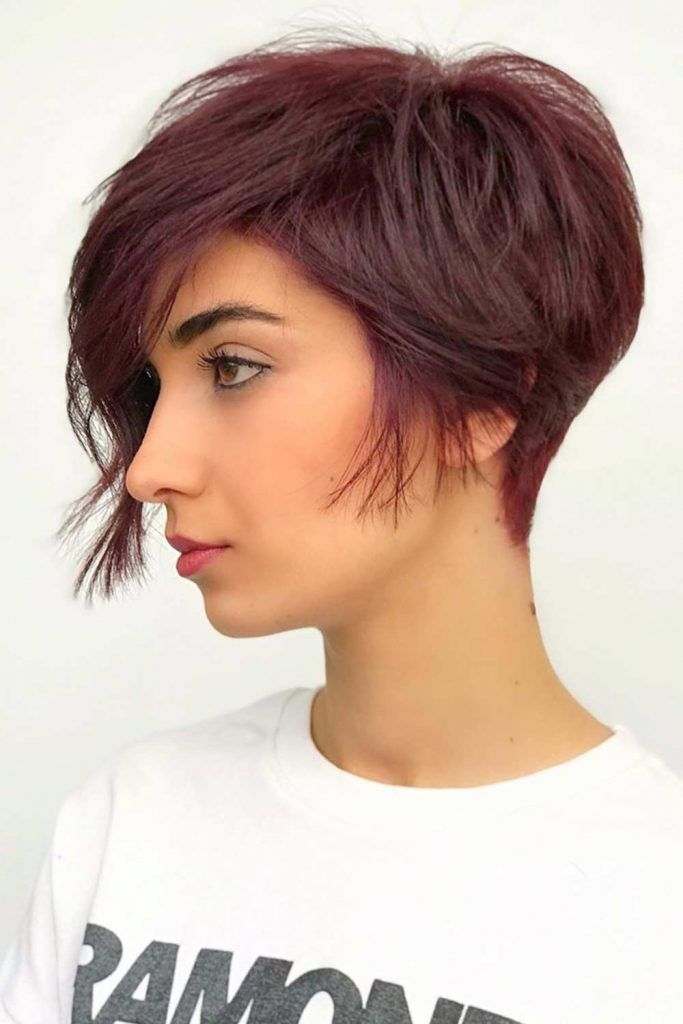 Pixie Cut For Thick Hair #pixiebob #shorthaircuts