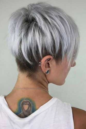 Unstructured Long Pixie Cut #pixiecut #haircuts #longpixie #shorthair