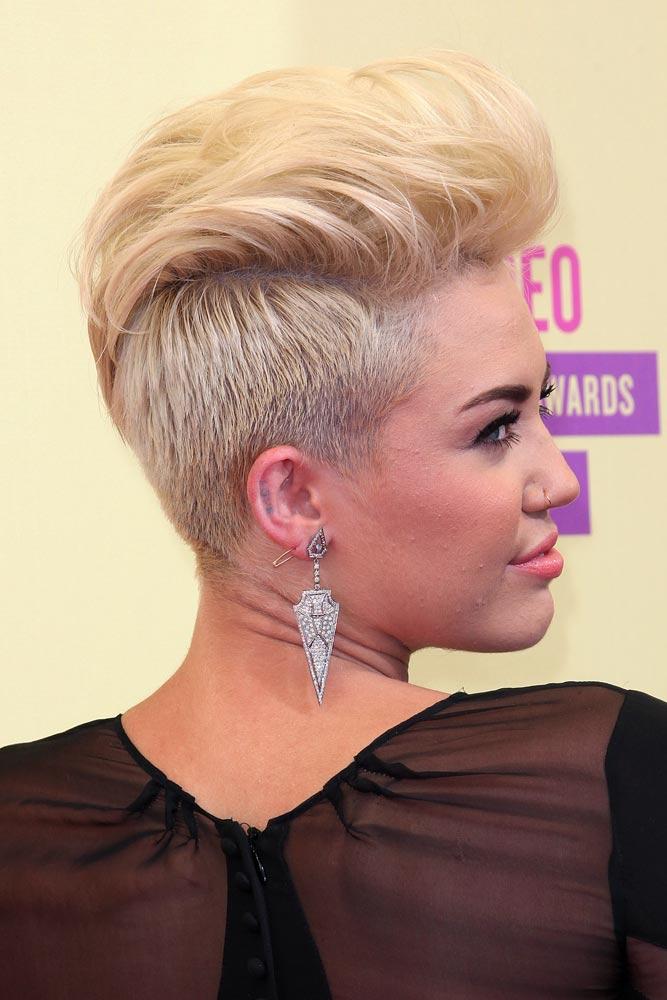Long Pixie Pompadour #longpixie #pixiecut #haircuts