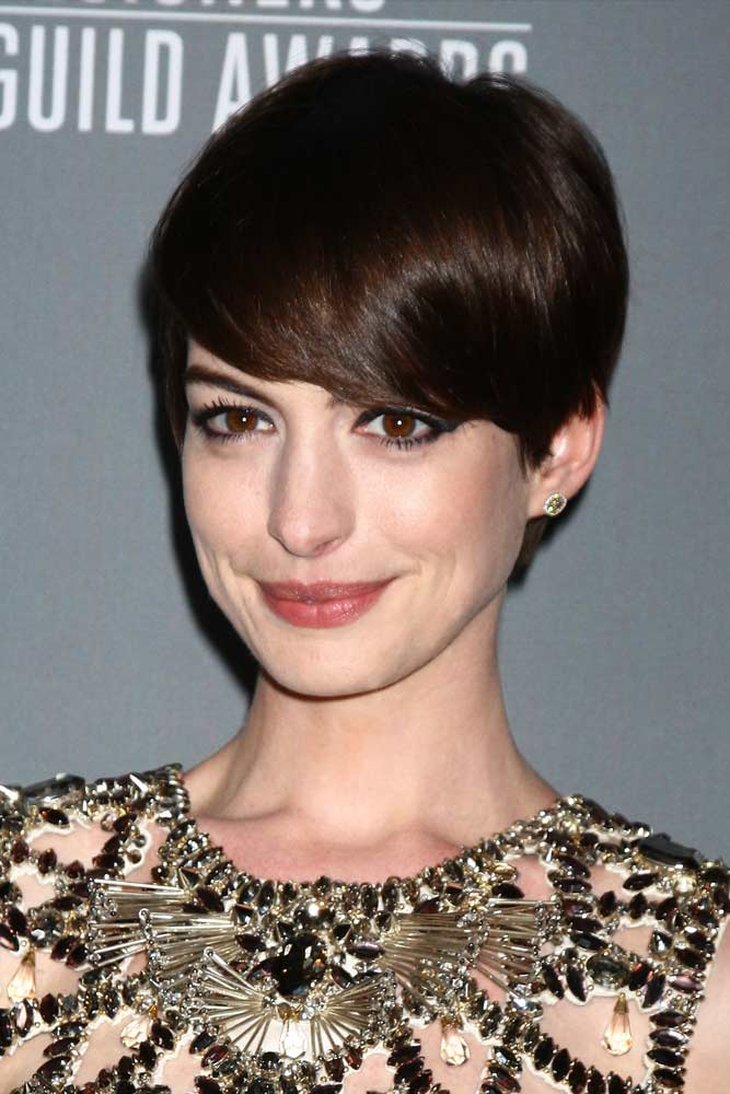 Straight Long Pixie #longpixie #pixiecut #haircuts