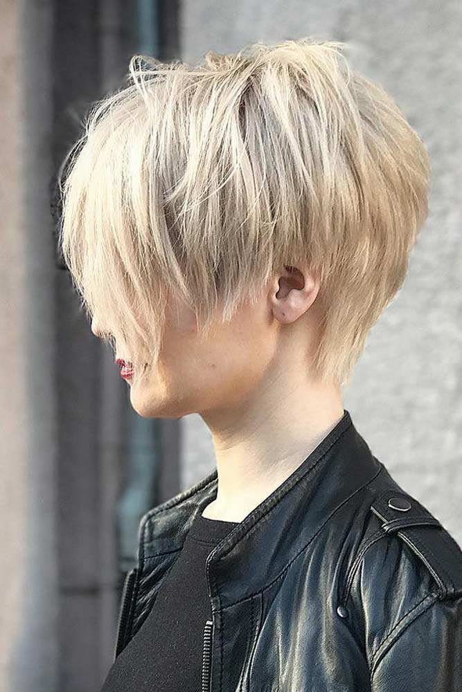 Long Pixie Cut For Thick Hair #longpixie #pixiecut #layeredhair