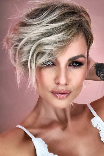 Long Pixie Cut For Fine Hair #finehair #pixiecut #haircuts #longpixie #shorthair