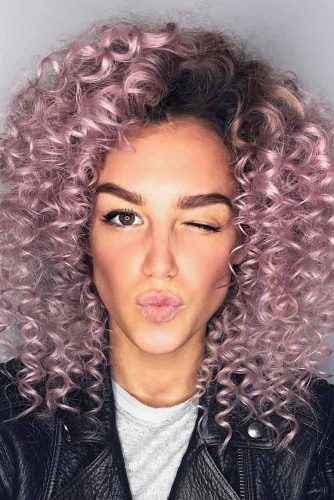 Curly and Fun Style