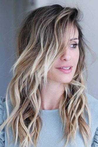 Wavy and Messy Style