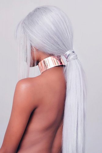 Long White Blonde Hair picture1