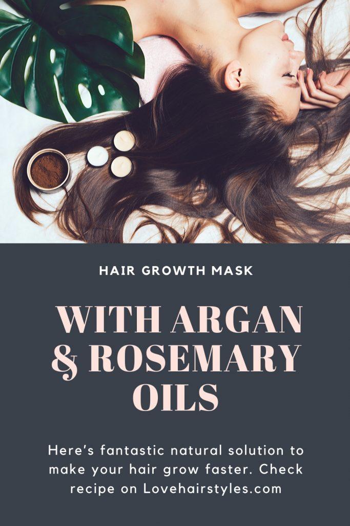 Hair Growth Mask with Argan & Rosemary Oils