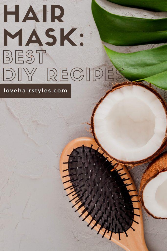 Refreshing Hair Mask with Aloe Vera & Yogurt