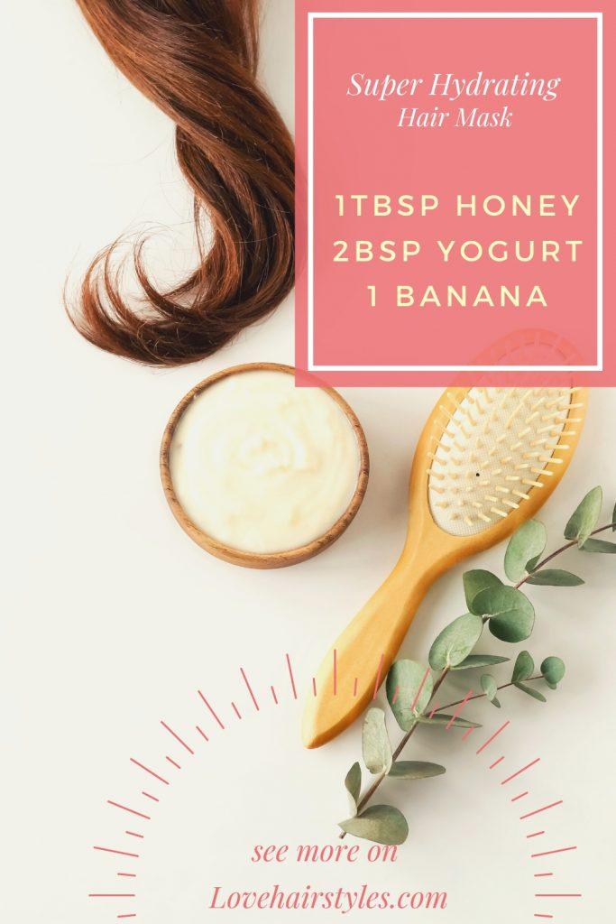 Super Hydrating Hair Mask with Honey, Yogurt & Banana