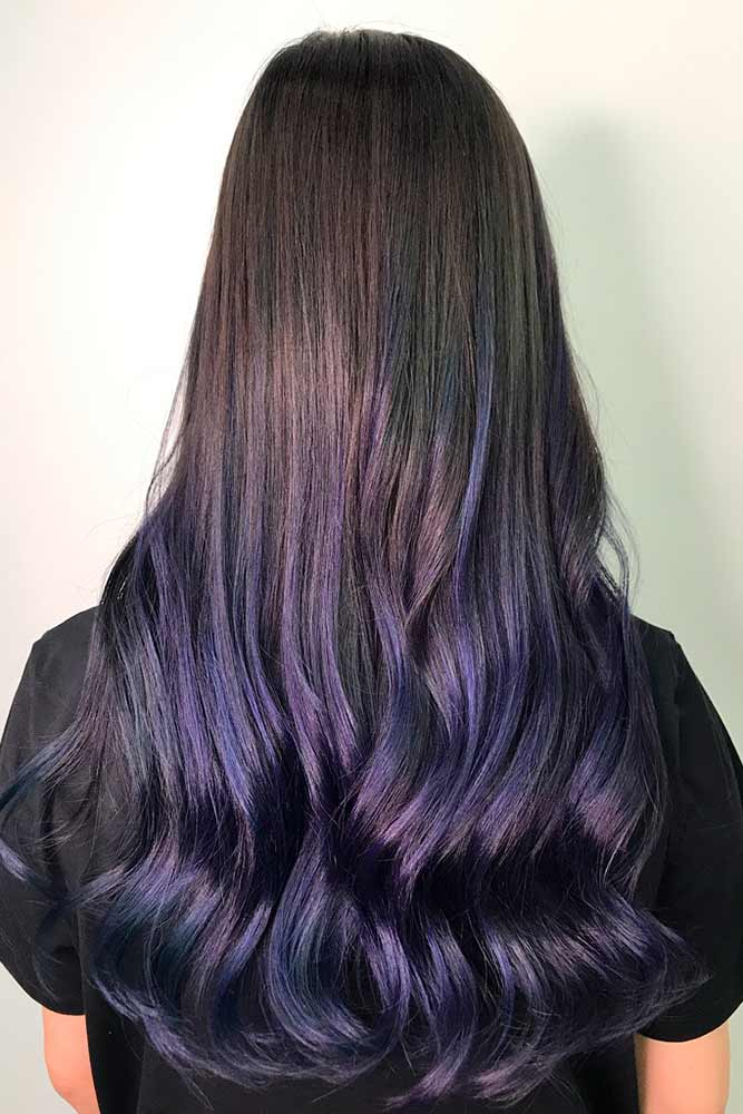 Amazing Purple Ombre Hair Color picture1