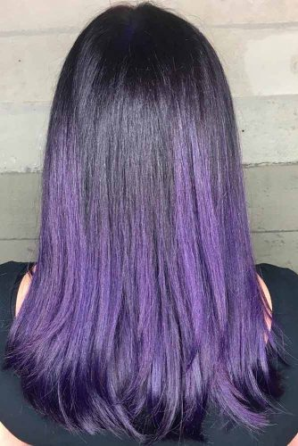 Amazing Purple Ombre Hair Color picture2