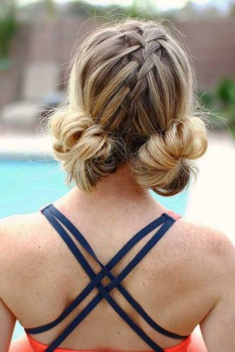 Simple Space Hair Buns picture3