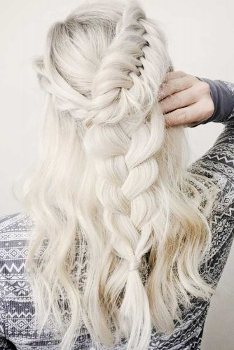 White Blonde Hair like Daenerys Targaryen picture2